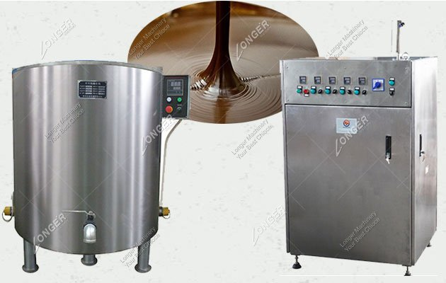 Industrial Chocolate Melting And Tempering Machine For